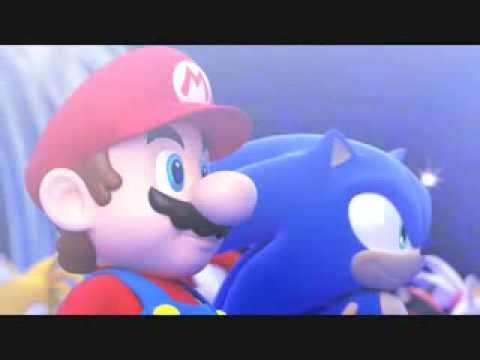 Mario  Sonic en los Juegos Olmpicos Opening  YouTube