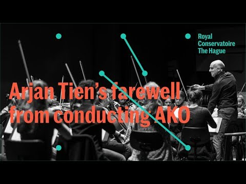Atheneum Kamerorkest (AKO) - Arjan Tien neemt afscheid als dirigent van het AKO