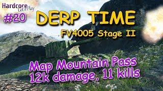 WOT: FV4005 Stage II, 12k damage, 11 kills, DERP KINGs #20, WORLD OF TANKS