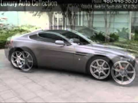 Aston Martin Vantage Scottsdale AZ YouTube - Aston martin scottsdale