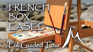 LANDSCAPE OIL PAINTING TOOLS - VIDEO 1 A full guided tour of the French Box Easel - particularly aimed at the En Plein Air