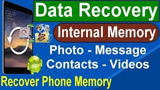 How To Recover Lost & Deleted Data/Files From Internal Phone Memory With PC By Tahir Technical TV
