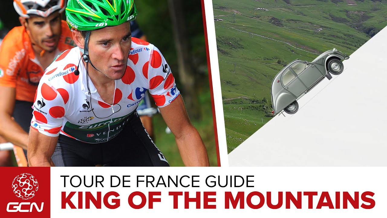 How Do You Win The King Of The Mountains At The Tour De France  Polka Dot  Jersey Explained. Global Cycling Network 108178b3e