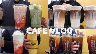 Eng)카페브이로그 음료자판기가되어가는카페브이로그 컴포…