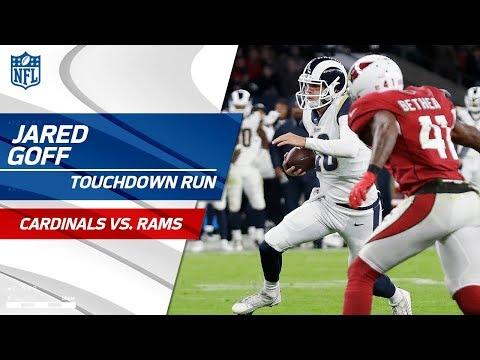 Jared Goff Caps Off Amazing 2-Minute Drill w/ Read Option TD! | Cardinals vs. Rams | NFL Wk 7