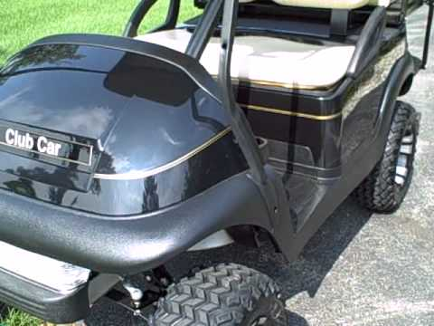 2005 Club Car Precedent Gas Golf Cart Many Upgrades