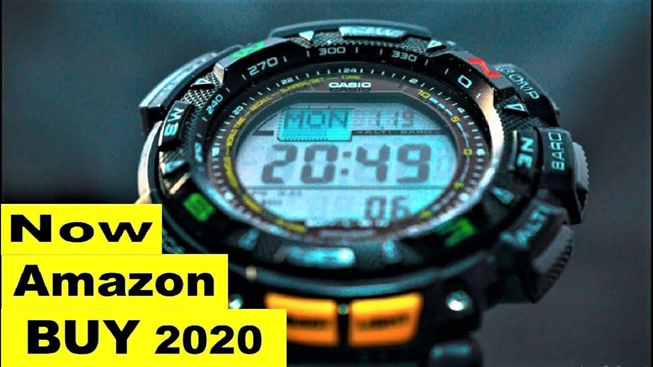 f77751603e25 Top 7 Best Casio Protrek watches Buy Now Amazon 2019 - YouTube