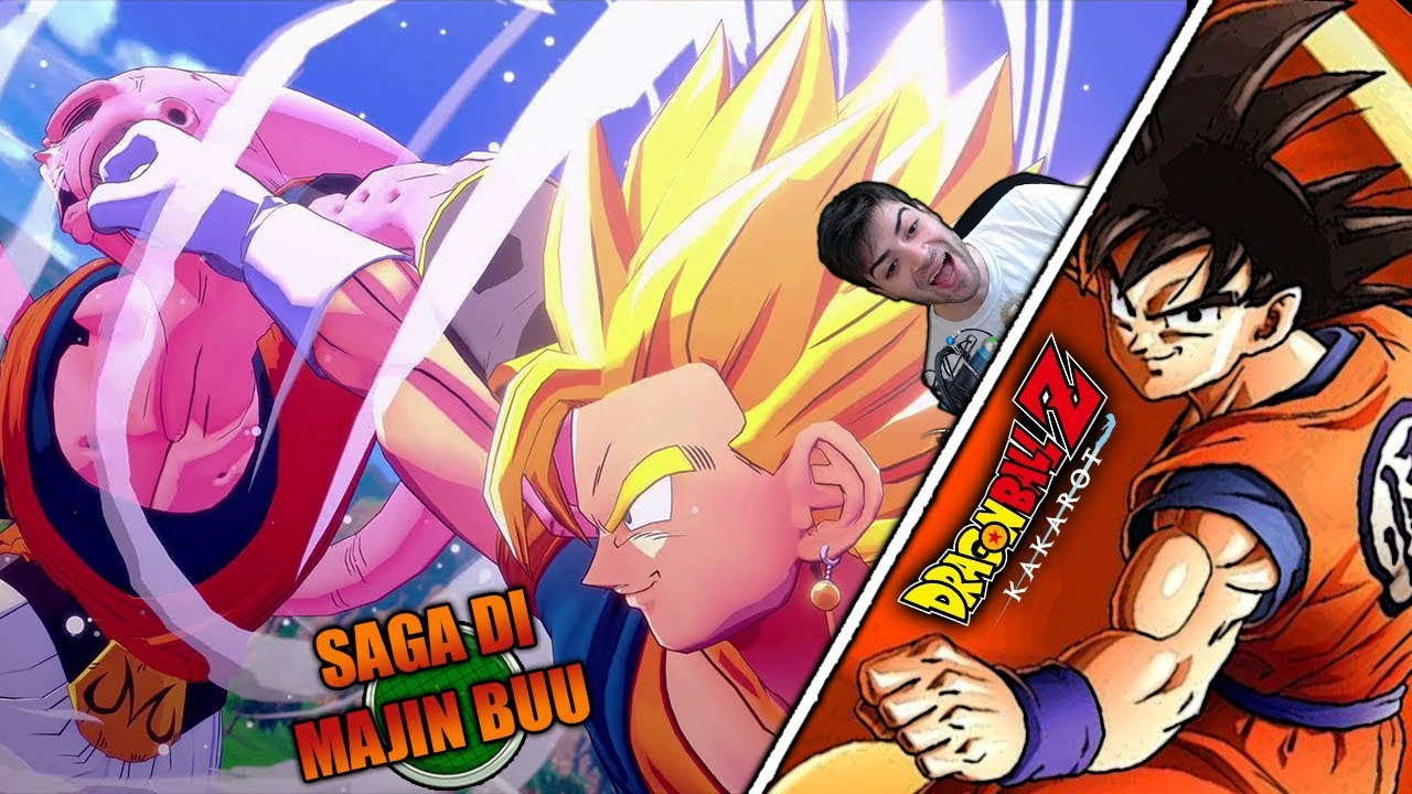 5. TUTTA LA SAGA DI MAJIN BUU 😍 STUPENDA!   Dragon Ball Z Kakarot Storia Completa ITA