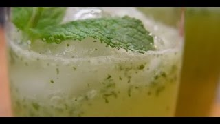 How to make mint limeade refreshing summer drink
