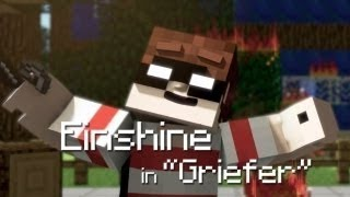 "Robbie Williams - Candy A Minecraft Parody ""Griefer""(Animation)"
