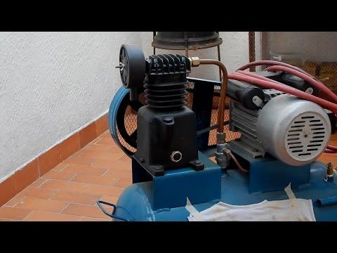 Cómo cambiarle el aceite a un compresor de aire