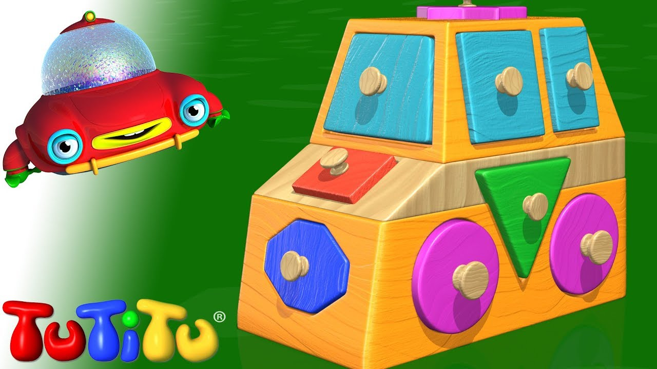 Tutitu toys shapes puzzle youtube for Piscina de bolas toysrus