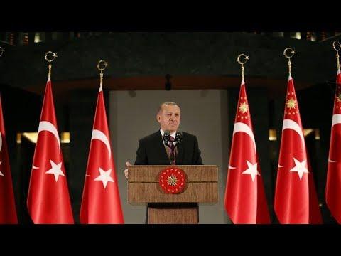 Cumhurbaşkanı Erdoğan, AK Parti milletvekilleri ile bir araya geldi