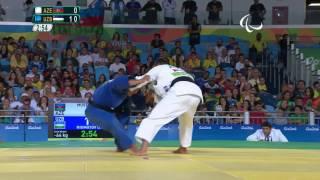 Judo | uzbekistan vs azerbaijan | men's -66kg gold medal contest | rio 2016 paralympic games