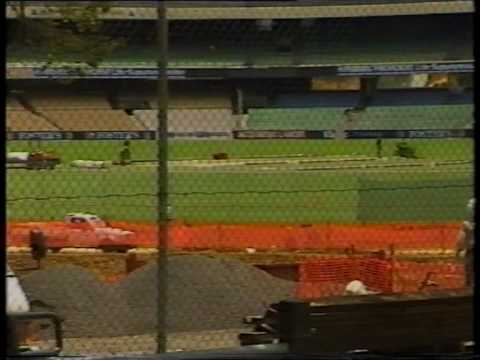 M.C.G Southern Stand Comes Down 1991