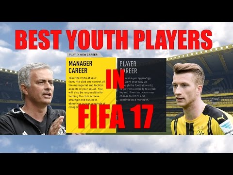 FIFA 17 Career Mode - How To Get The Best Youth Academy Players