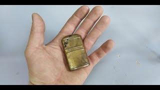 Restoration project - restoring lighter from WW2