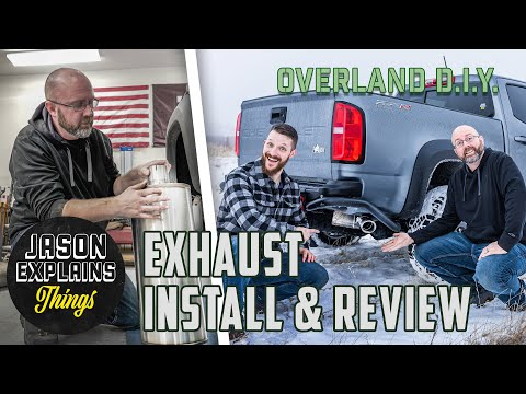 Chevy Colorado Performance Exhaust Install and Review!  OVERLAND DIY
