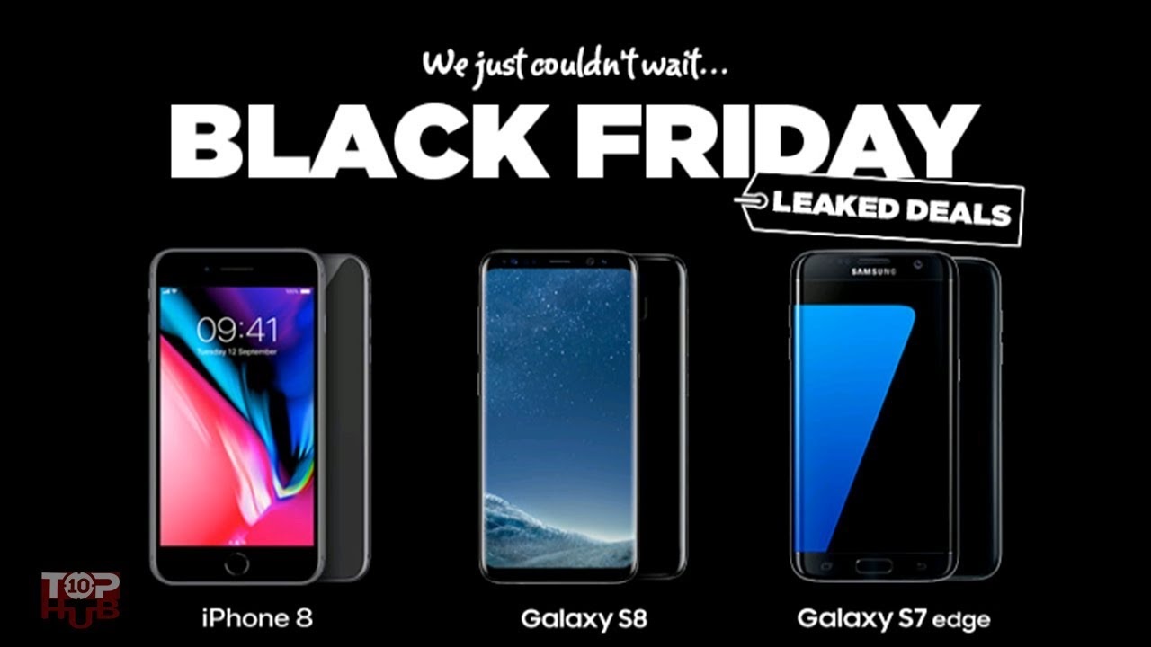 Black Friday Mobile Phones Deals 2018