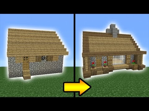 Minecraft Tutorial How to Transform a Villager House YouTube