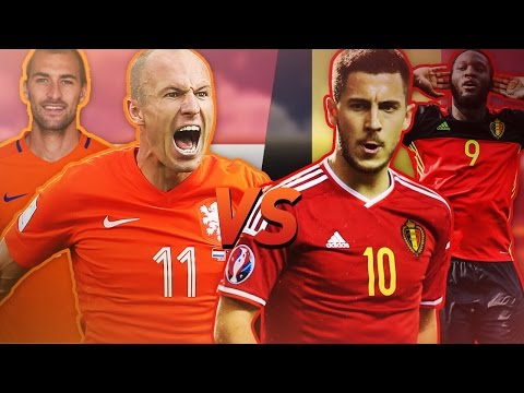 BELGIË VS NEDERLAND IN FIFA!