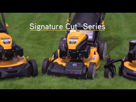 Cub Cadet's Signature Cut Series