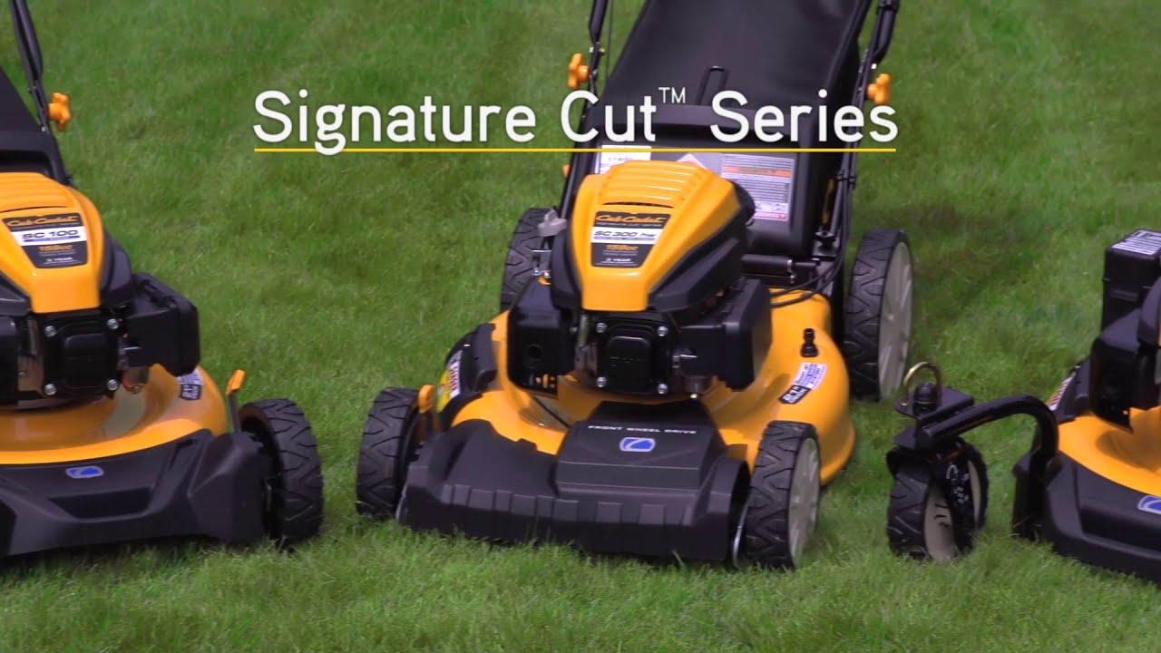 Cub Cadet S Signature Cut Series
