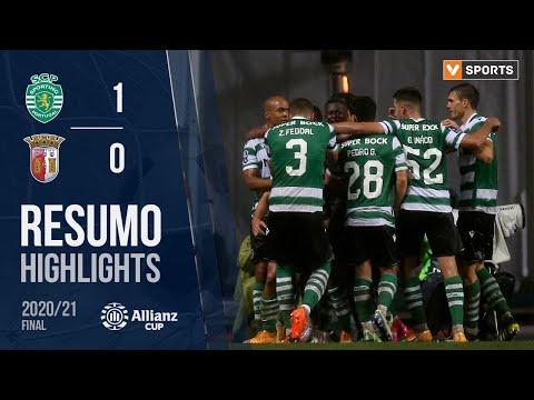 Highlights | Resumo: Sporting 1-0 SC Braga (Taça da Liga 20/21 - Final)