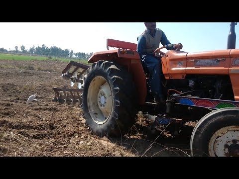 Al Ghazi Tractor  Powerfull With Disc Harrow Best Tractor And Agriculture 2019