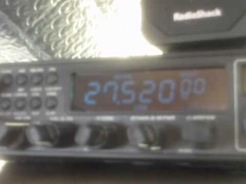 14HB002 Calling CQ Pacific 27.555 MHz USB and 27.520 MHz USB