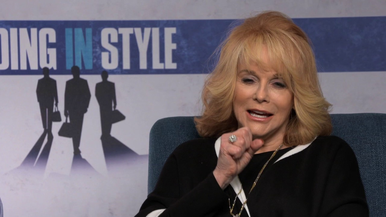 zach braff and ann margret interview for going in style zach braff and ann margret interview for going in style