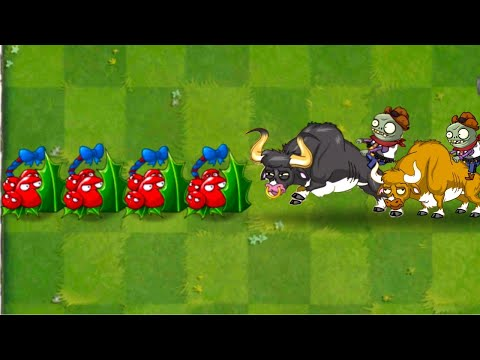 Plants vs Zombies 2 Holly Barrier Piñata Party and Battlez - PVZ 2 Primal Gameplay