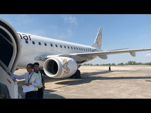 Myanmar National Airlines Premium Economy Flight Experience: UB 413 Yangon to Heho