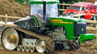 rc tractor John Deere working hard / big rc tractors action