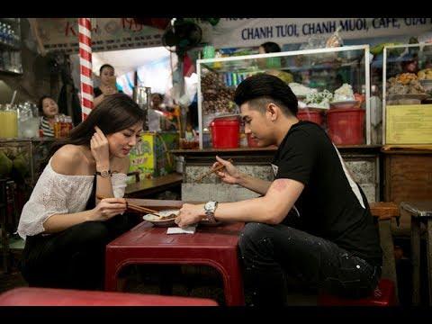 Việt Nam tươi đẹp | Noo Phước Thịnh và Tú Anh vào chợ Đông Ba thưởng thức ẩm thực Huế | VNTD HTV Web