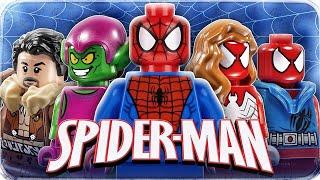 Lego 76057 Super Heroes Людина-павук: Останній бій вояків павутини. Огляд LEGO