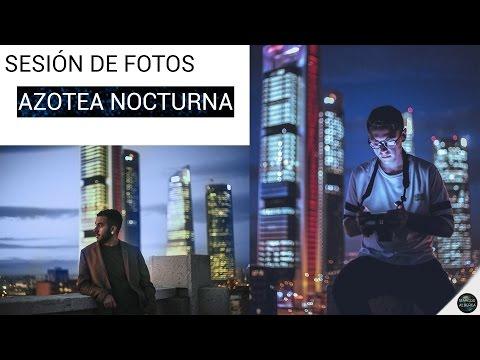 Sesión de fotos: AZOTEA DE NOCHE
