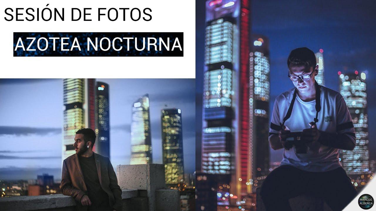 Sesion De Fotos Azotea De Noche Youtube