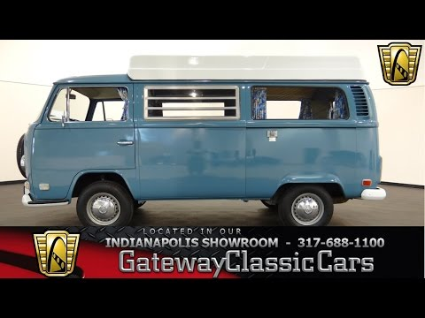 1972 Volkswagen Type 2 Kombi Bus - Gateway Classic Cars Indianapolis - #394 NDY