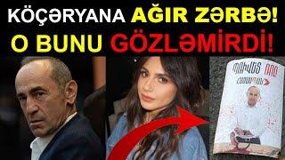 Seçki Günü Köçəryana AĞIR ZƏRBƏ! O Bunu Gözləmirdi! Son xeberler bugun 2021. ermenistanda seckiler