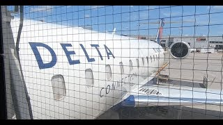 Delta Air Lines Bombardier CRJ-200 | Minneapolis - Grand Forks | Economy