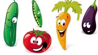 Готовим салат и изучаем фрукты и овощи.