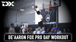De'Aaron Fox Catalyst Sports Pro Day Workout