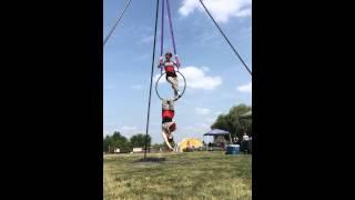 Michigan Pirate Festival 2014- Aerial Act!