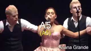High Notes - A5 Battle - Female Singers