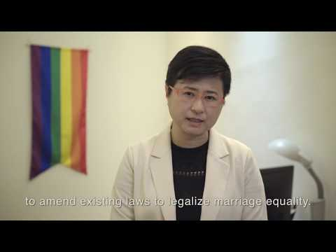 Securing marriage equality in Taiwan
