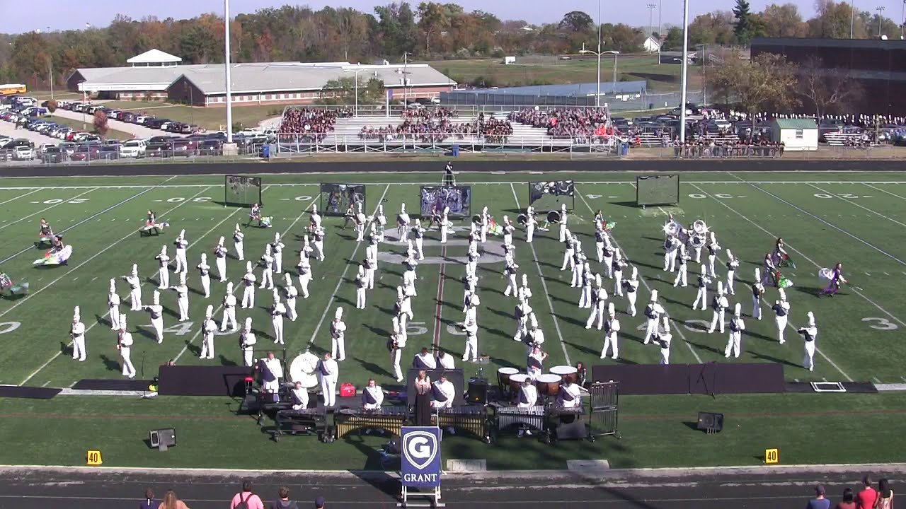 2016 Grant Co Marching Band