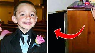 Мальчик пропал без вести на 2 года, после чего родители заглянули за шкаф..