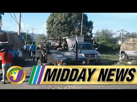 JCF - St. James ZOSO Police Officers Not Homeless   TVJ Midday News - July 26 2021