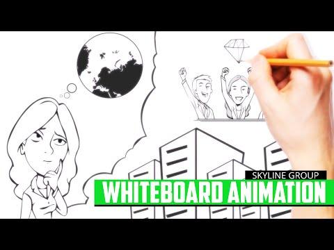 Whiteboard Animation Skyline Group